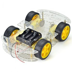 4WD 2 Layer Robot Chassis