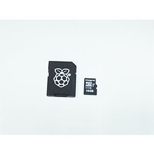 16GB Micro SD Card with NOOBS for Raspberry Pi (CLASS10)
