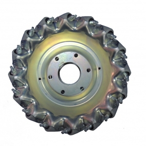 152mm Left Aluminum Mecanum Wheel