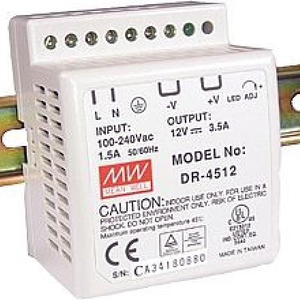 DR-4524  Din Rail Power Supply